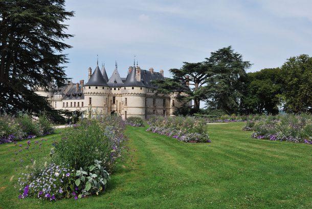 Chaumont-sur-Loire castle and gardens ©Daniel Jolivet