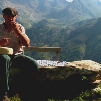 Fromage de brebis et berger-©CDT64-Medialab