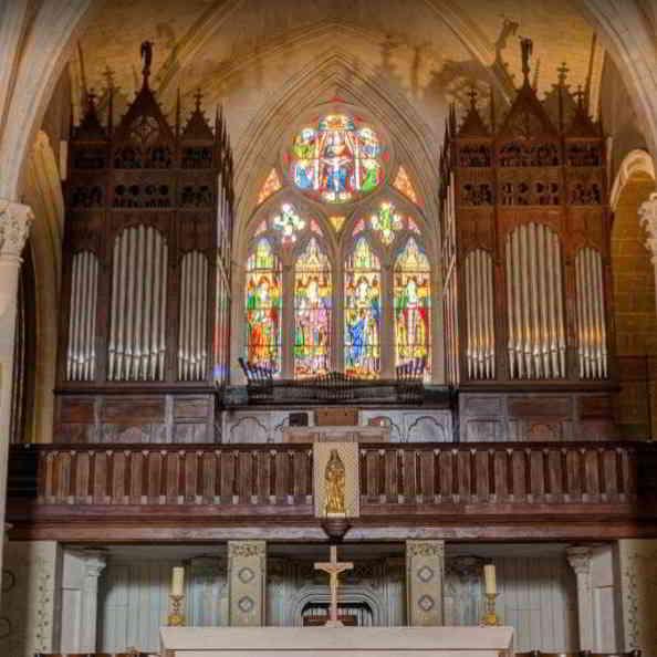 Saint Leger church in Cognac