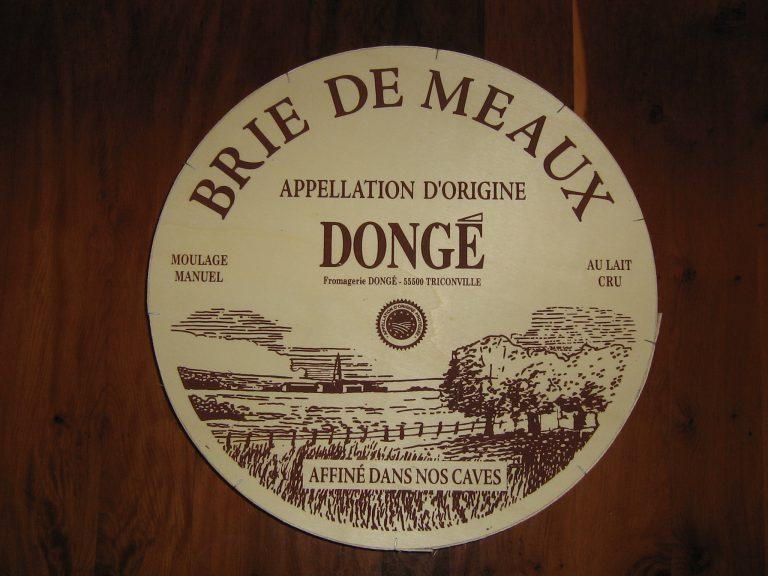 The Famous Brie de Meaux