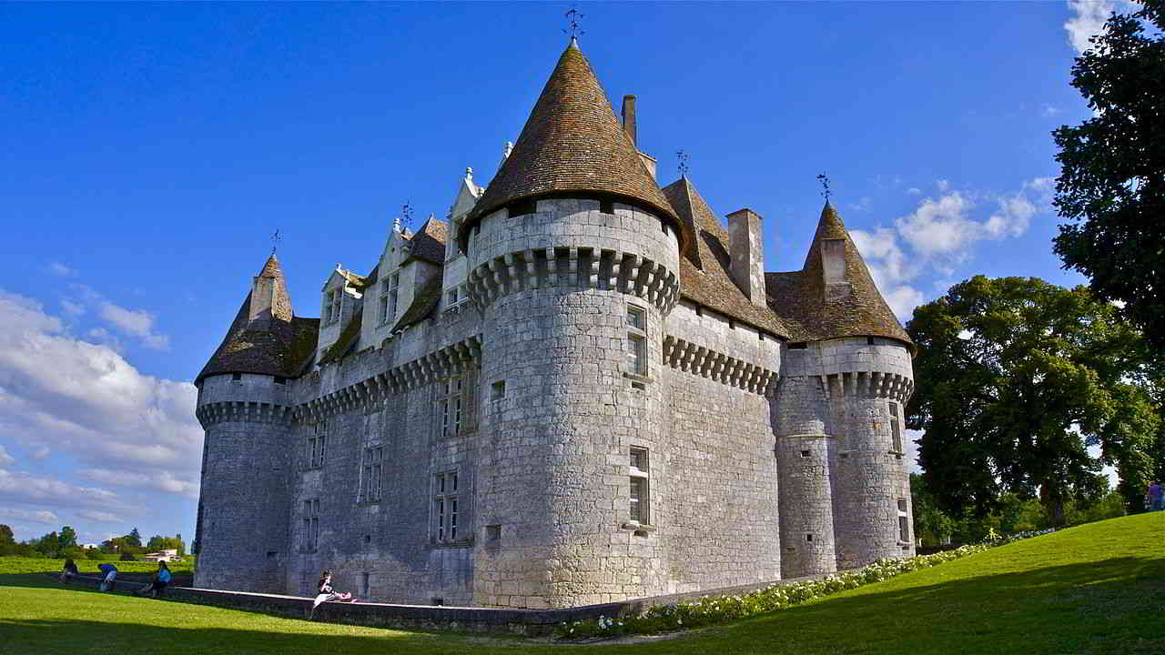 Montbazillac castle french wine