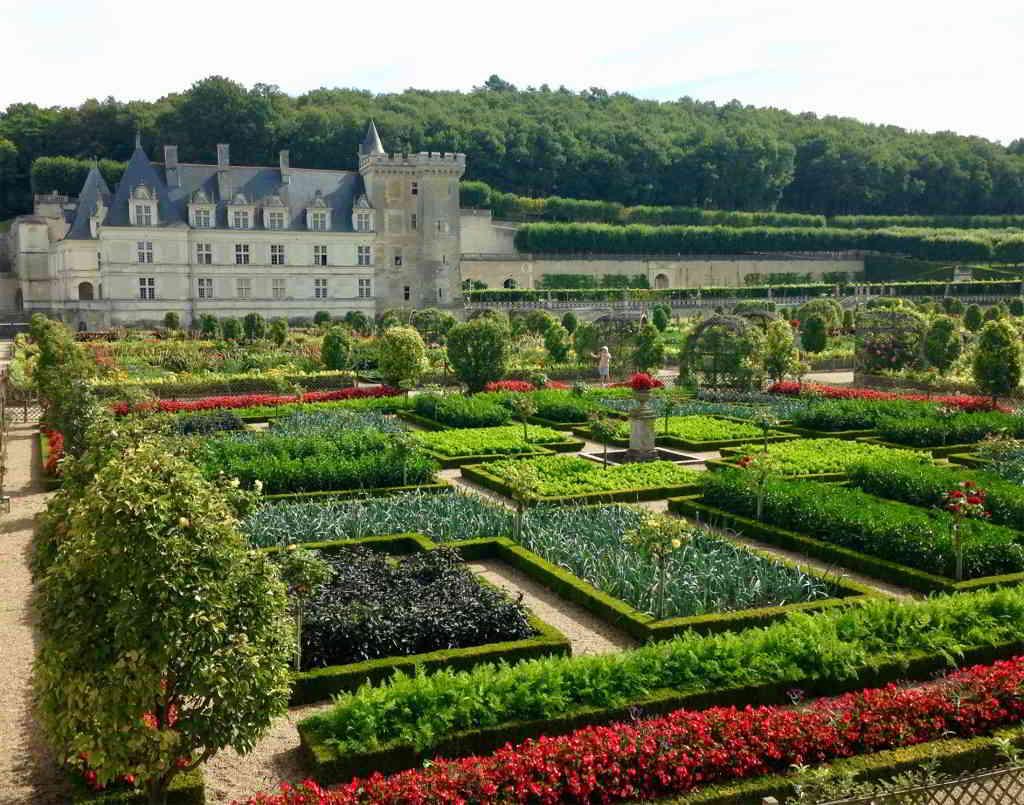 Château de Villandry and gardens, Loire Valley