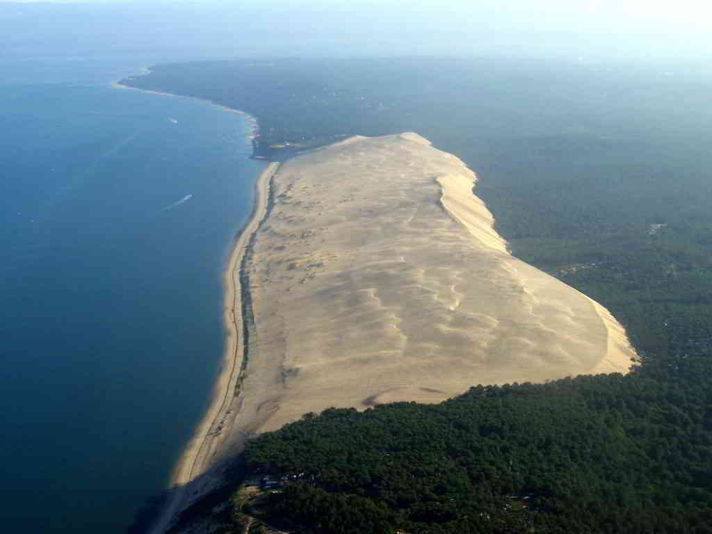 The Famous Sand Dune View From the Sky