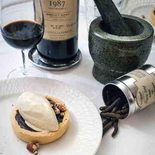 Food wine Pairing Pepper dessert