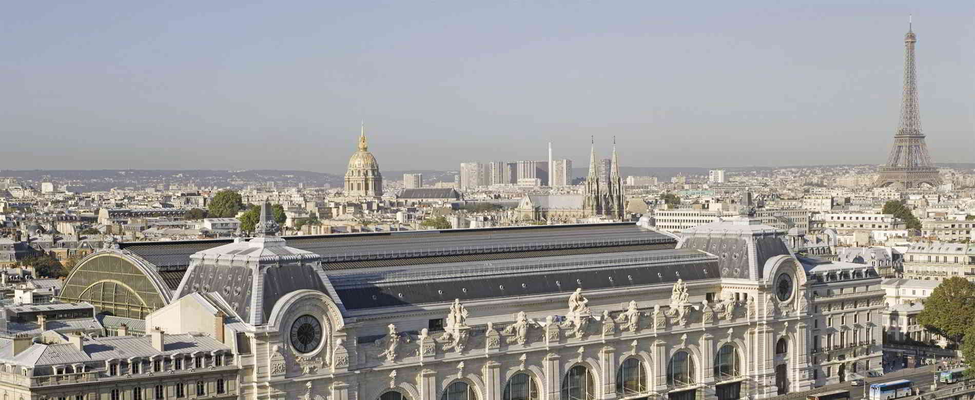 paris rooftop high view