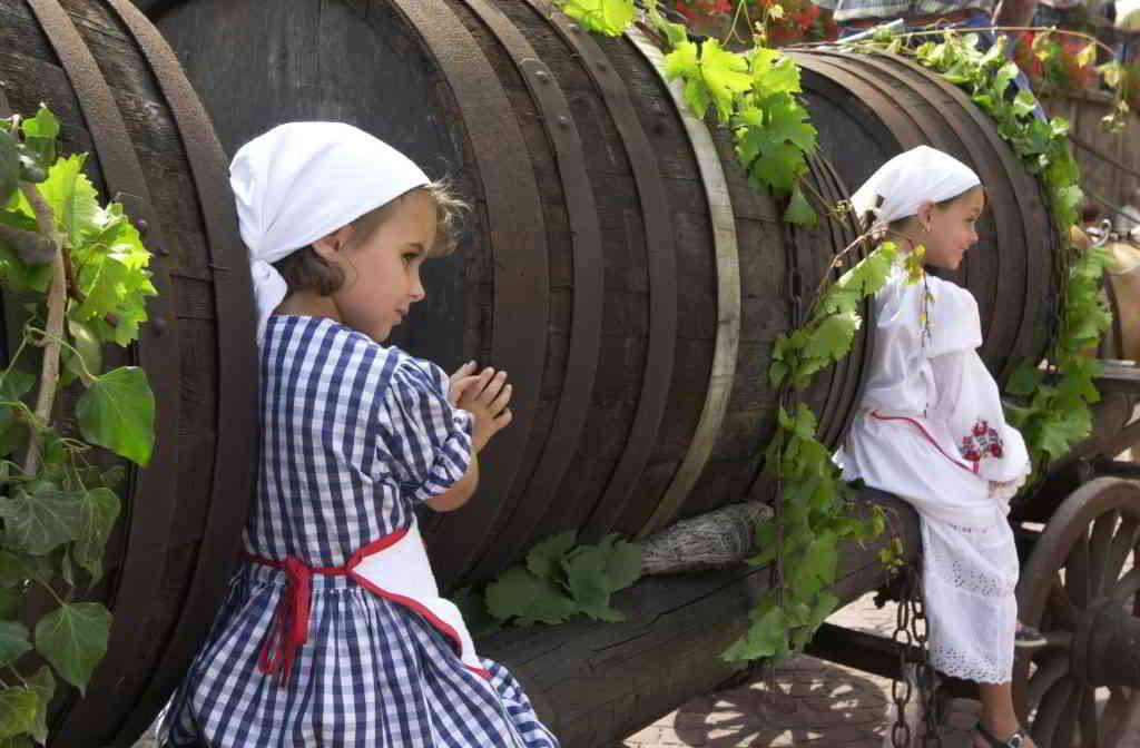 Folkloric Outfits during Colmar Wine Fair