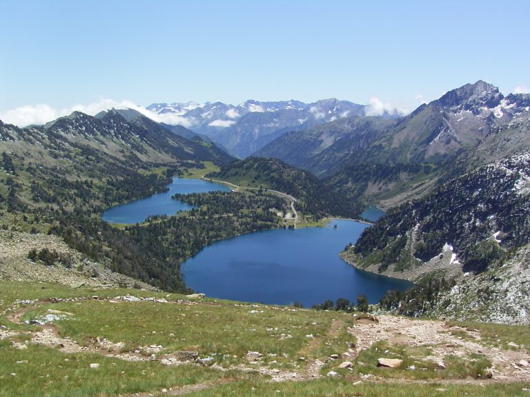View from the Pyrenean Mountains