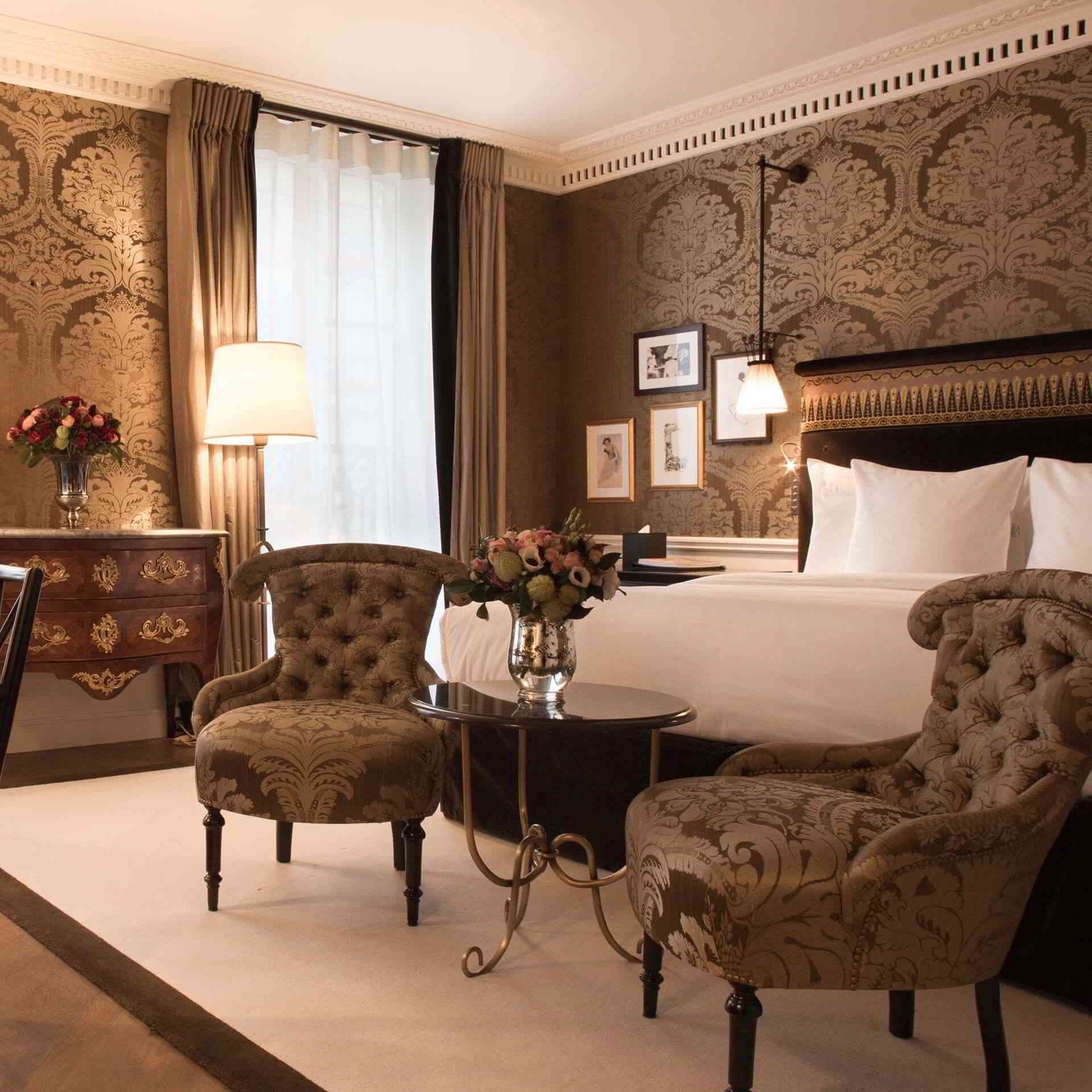 La-Reserve Paris Hotel Prestige Room