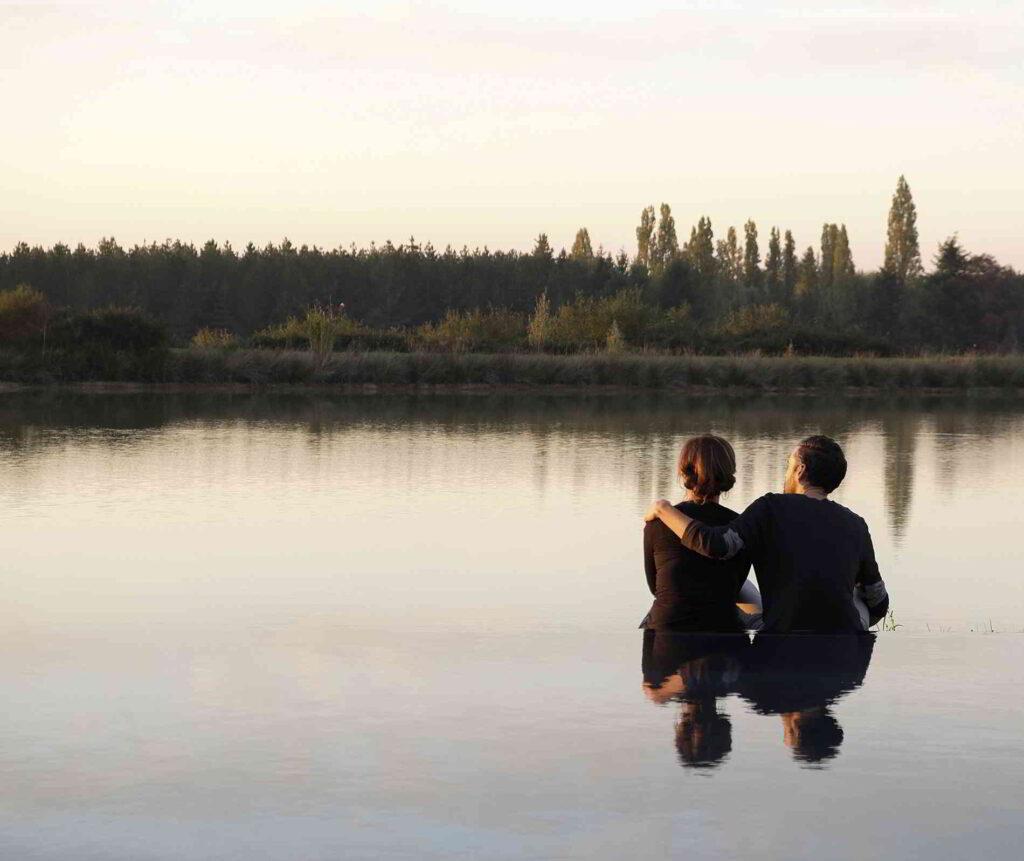 Loire Valley - a couple enjoying the surroundings
