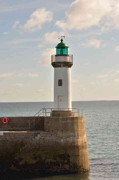 The lighthouse of Belle Ile