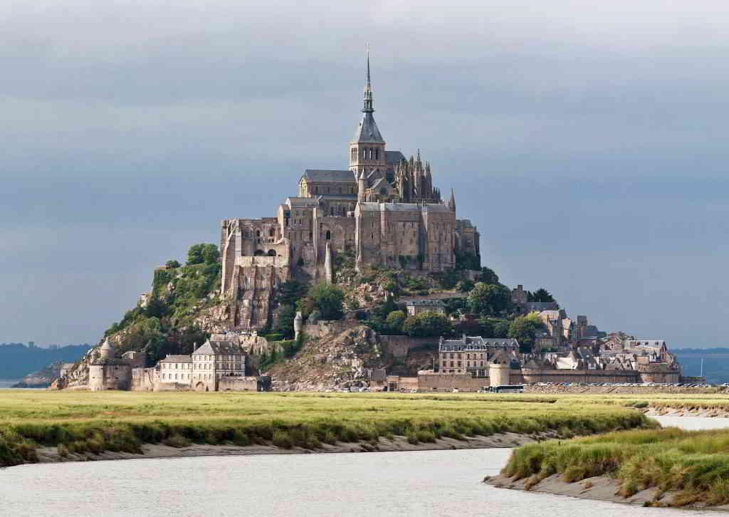 The famous Mont Saint-Michel