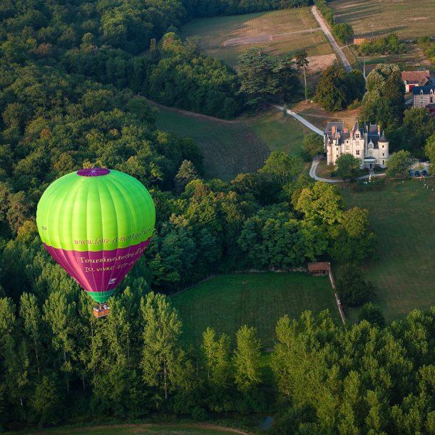 Balloon flight in Burgundy ©David Darrault - ADT Touraine