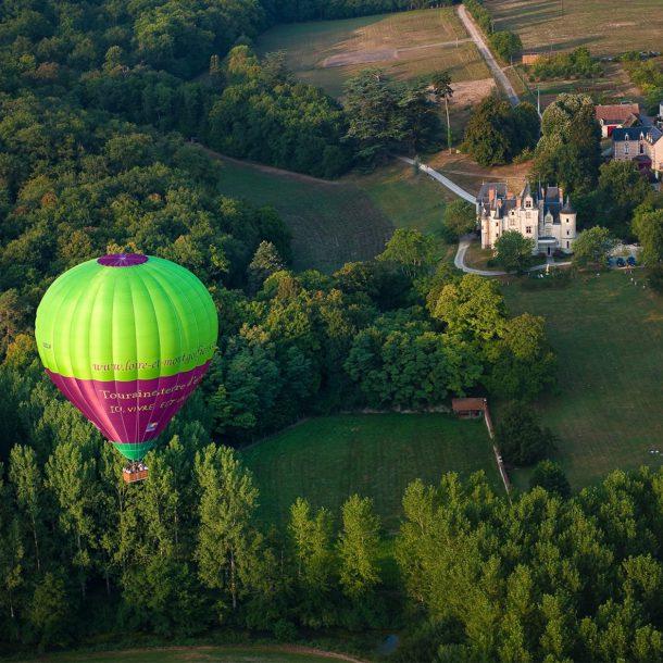 Hot air Balloon In Burgundy ©David Darrault ADT Touraine copie square