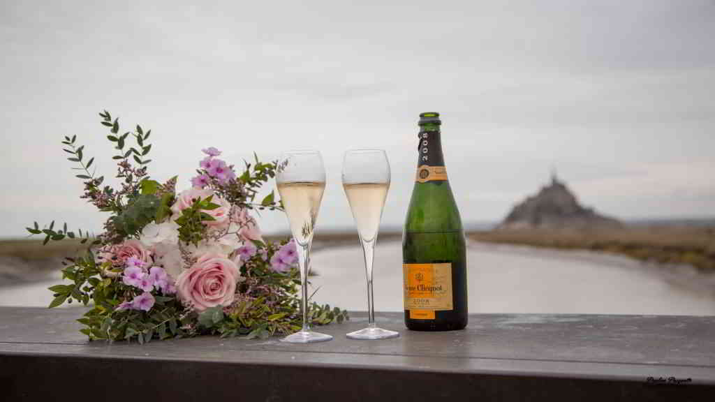 Proposal at the Mont Saint-Michel @ Pauline Pasquette