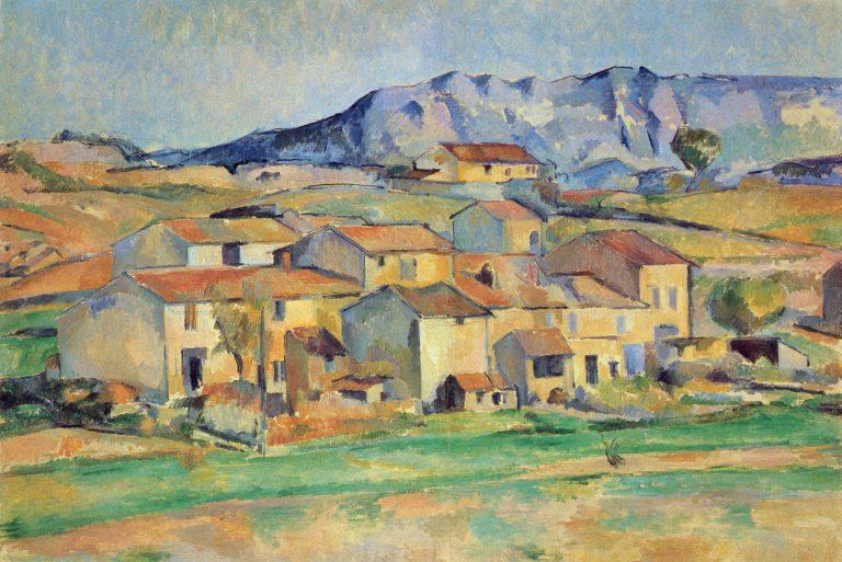 La Montagne Sainte-Victoire painted by Cézanne