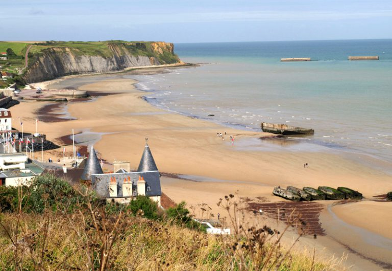 Arromanches - One of the D-Day famous beaches