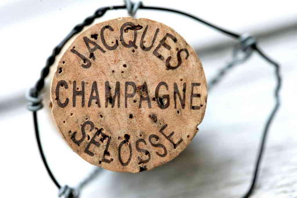 Domaine Selosse champagne cork