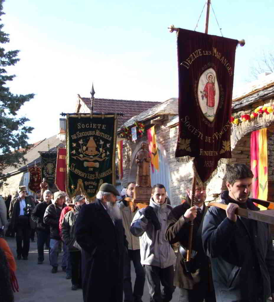 Saint-Vincent Tournante Wine Festival in Burgundy