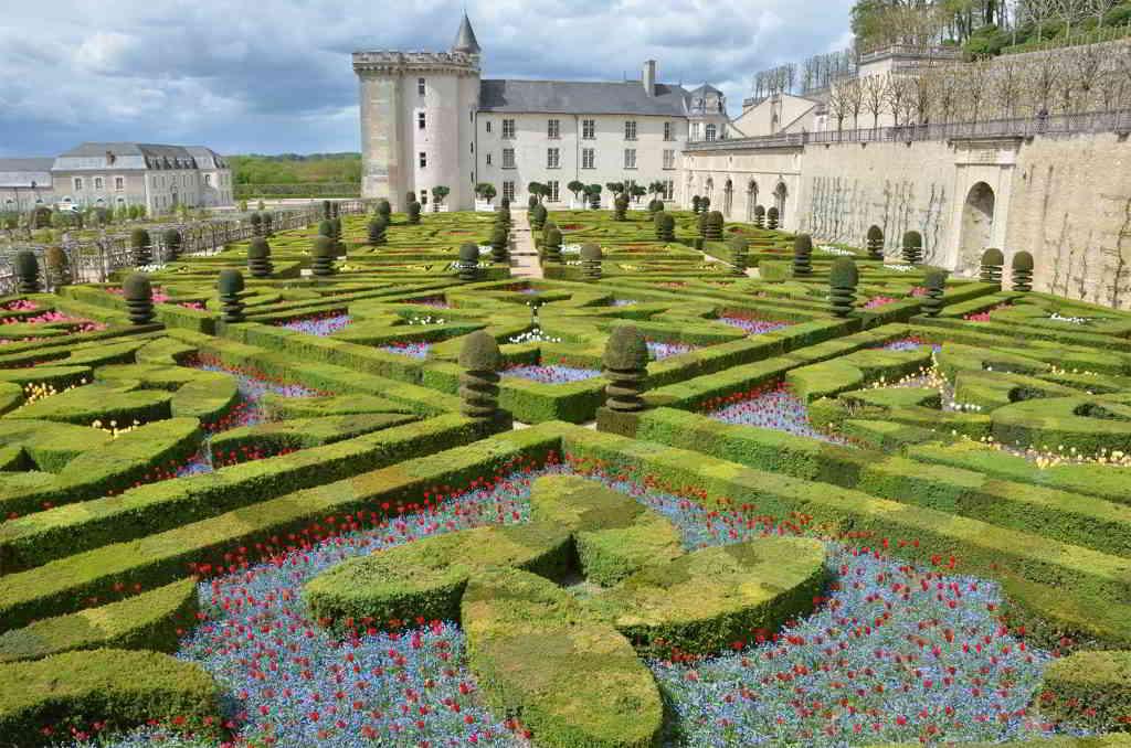 The Stunning Gardens of Château de Villandry