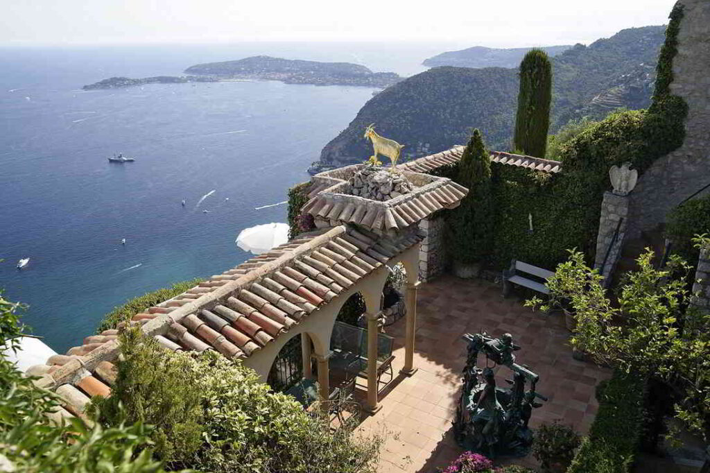 Romantic vue, South of France