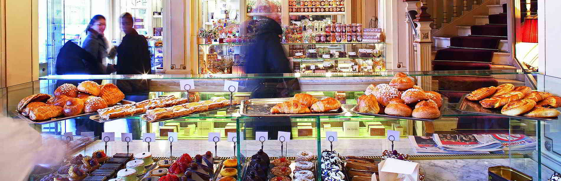 Pastries & Tea in Paris