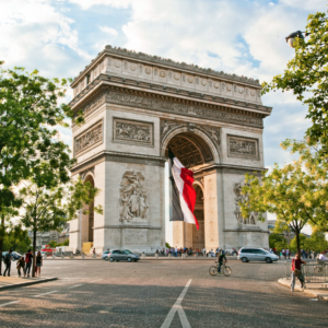 Arc de Triomphe @Julian Elliott/Getty Images