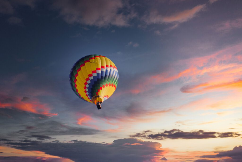 air balloon sky