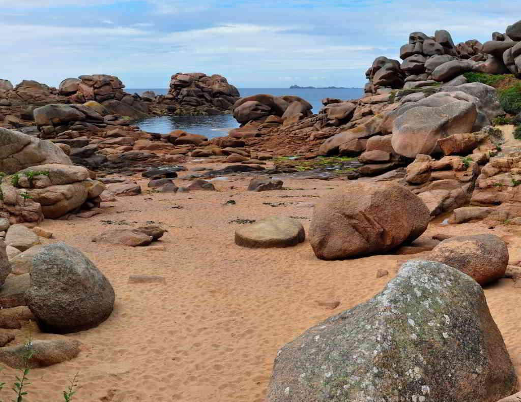 The Pink Granite coastline