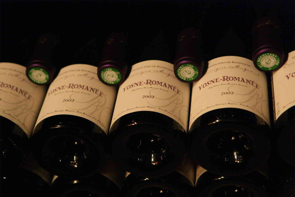 A tasting at the Romanée-Conti vineyard
