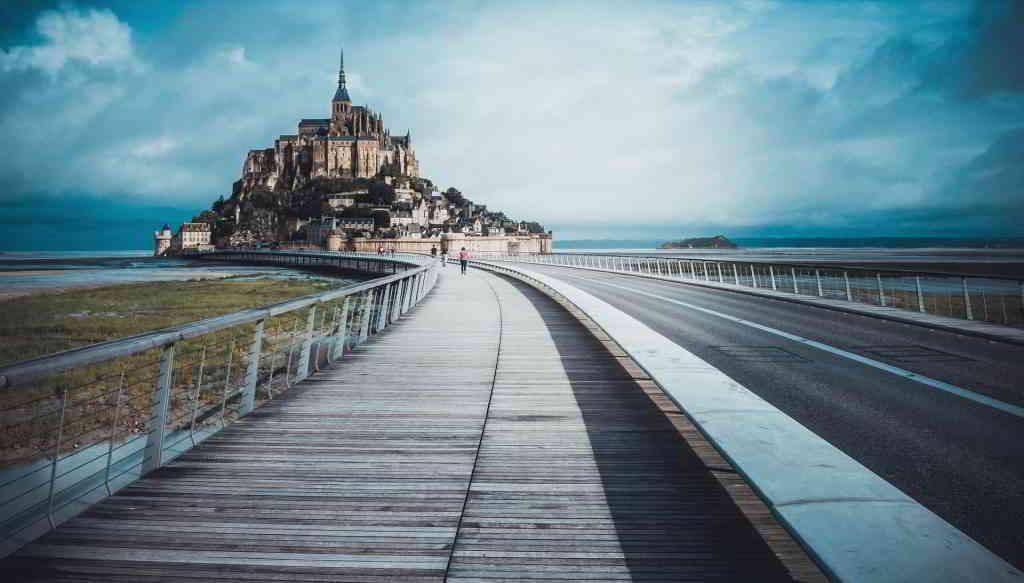 castle mont saint michel