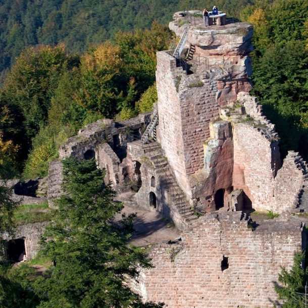 Château Fleckenstein, Lembach ©alsacevelo.fr