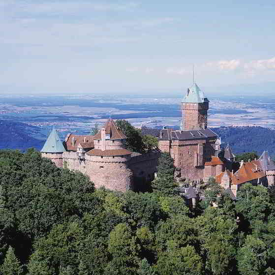 Château Koenigsbourg, Alsace