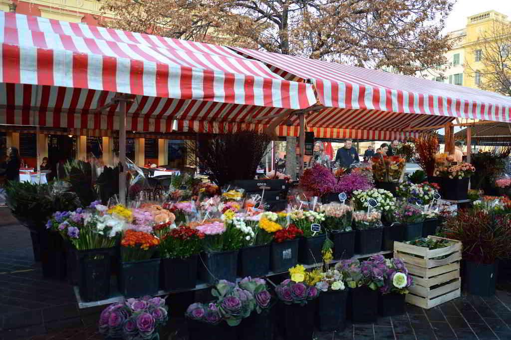 Cours Saleya's Market in Nice