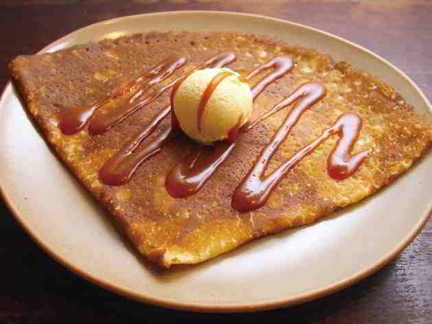 Brittany's famous crepe