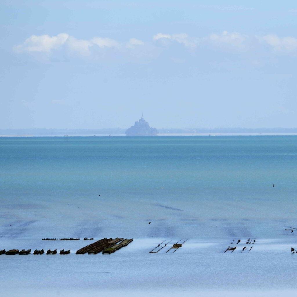 Mont Saint Michel in the distance