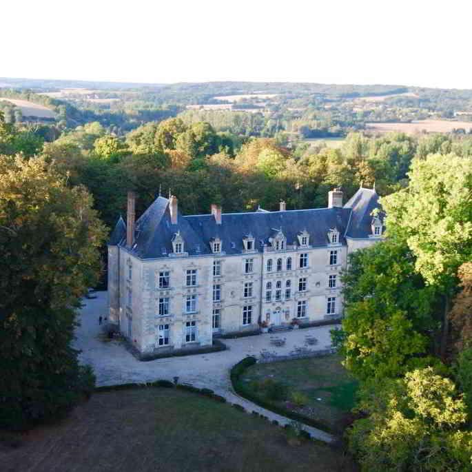 Domaine de Villeray ©air-pegasus.com