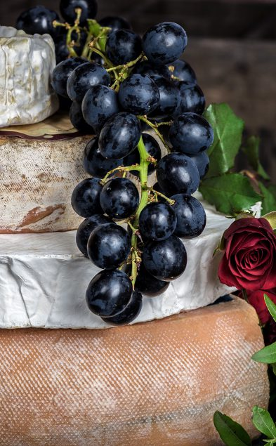 _champagne cheese grape 2