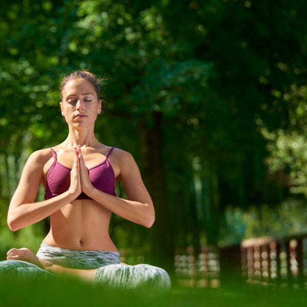 yoga meditation yard