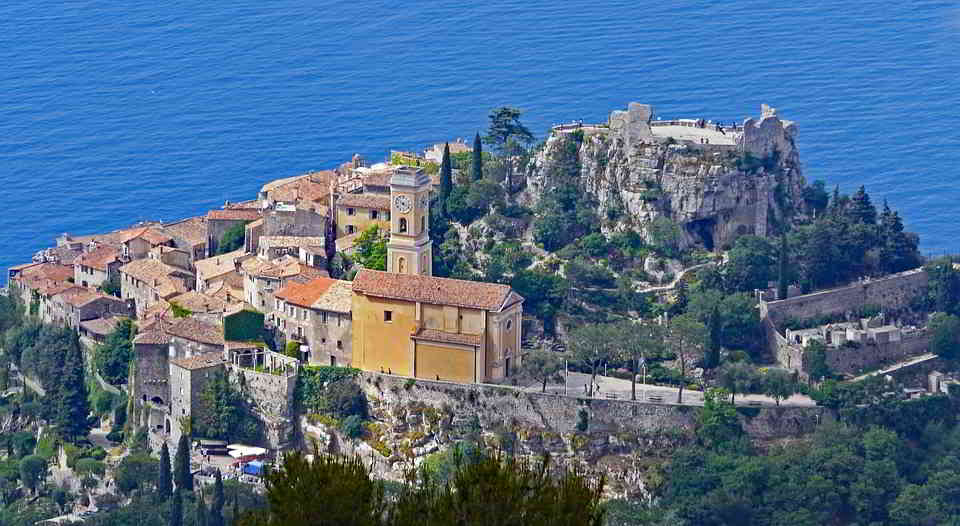 The stunning town of Eze