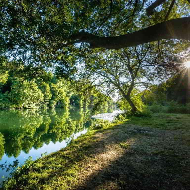 Countryside along the Charente river ©Destination Charente