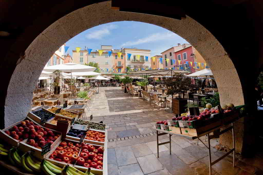 Food Market in Provence