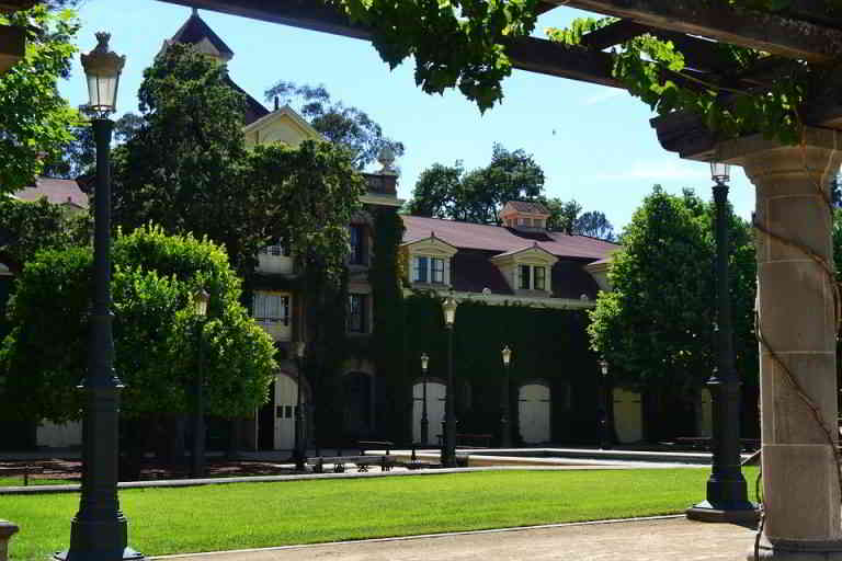 Inglenook Winery in the Napa Valley