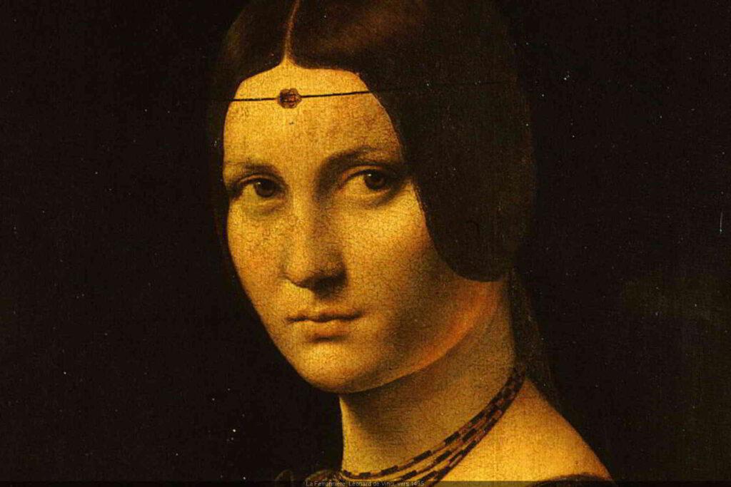 Renaissance Portrait by Leonard de Vinci