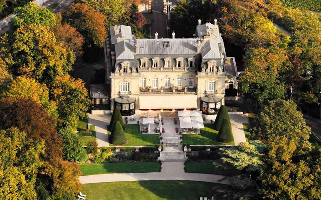 Les Crayères Castle in Champagne ©Les Crayères