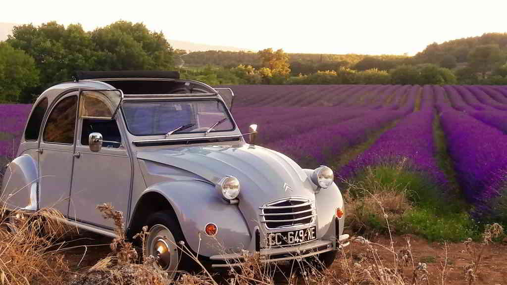 2CV tours in Provence