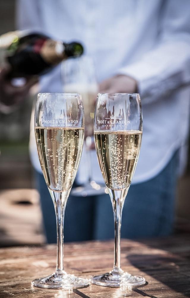 champagne tasting moet chandon dom perignon
