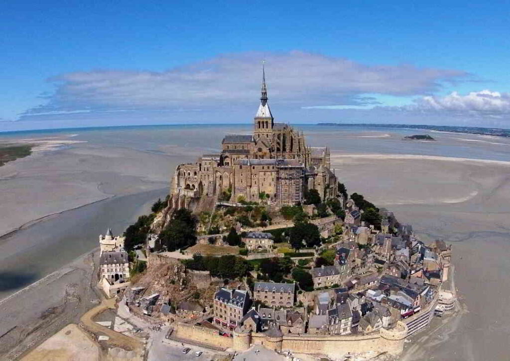 The mont Saint-Michel is classified a World Heritage site by UNESCO