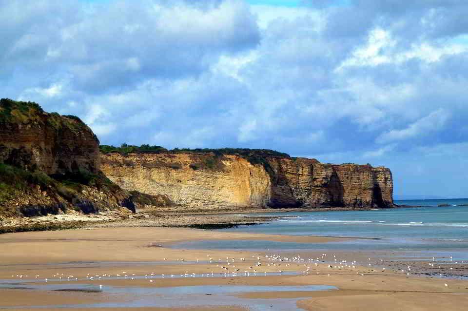 A Beach in Normandy