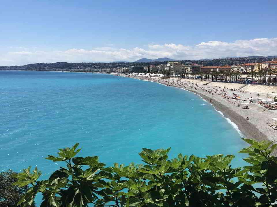 Amazing beach in Nice