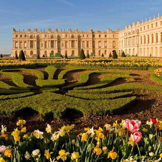 Versailles flowery gardens